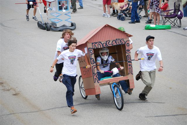Burro Days Outhouse Race